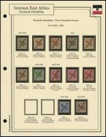 1896 / 1899 Overprints