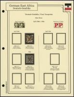 1896 / 1899 Overprints Plate Flaws
