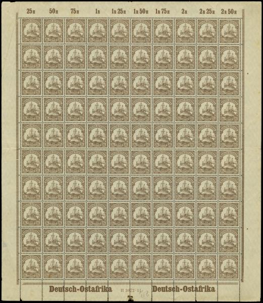 MiNr. 30 I Sheet