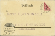 MiNr. 7 H (front)