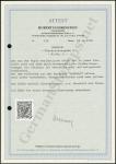 Eibenstein Certificate