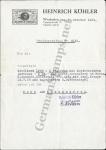 Köhler Certificate