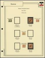 1900 Overprints Plate Flaws