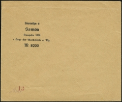 Sales Envelope (front)