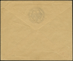 Sales Envelope (rear)