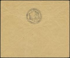 Sales Envelope (rear)