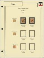 1897 / 1899 Overprints Plate Flaws