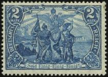 MiNr. 95 B II a