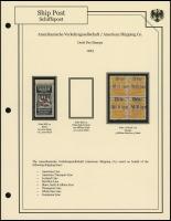 A.V. 1923 Overprints