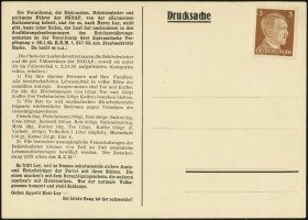 MiNr Karte 1 (front)