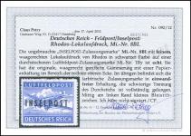 Petry Certificate