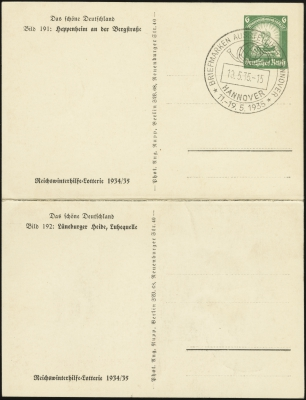 MiNr. P254 191/192 (front)