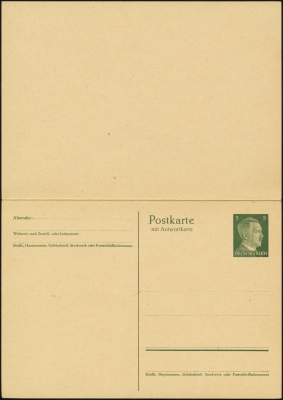 MiNr. P301 (front)