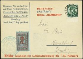 MiNr. 21 b on Postcard (front)