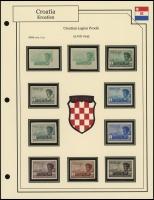 Croatian Legion Proofs