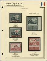 1941 Airmail Issue Plate Flaws