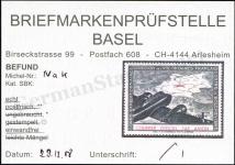 Basel Certificate