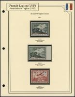1943 Airmail Overprints