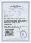 Paetow Certificate
