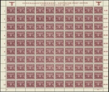 MiNr. 35 Sheet (I/3)