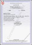 Zrinjšćak Certificate