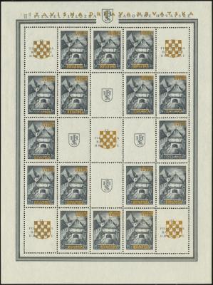 MiNr. 39 B Sheet