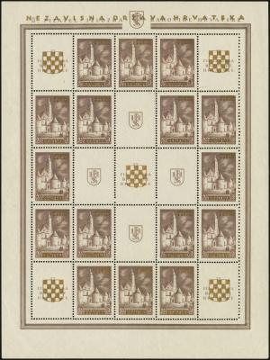 MiNr. 40 C Sheet