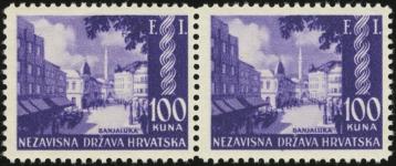 MiNr. 81 I (left) & MiNr. 81 (right)