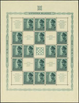 MiNr. 101 C Sheet