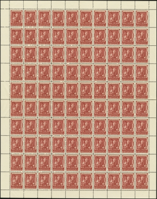 MiNr. 148 Sheet