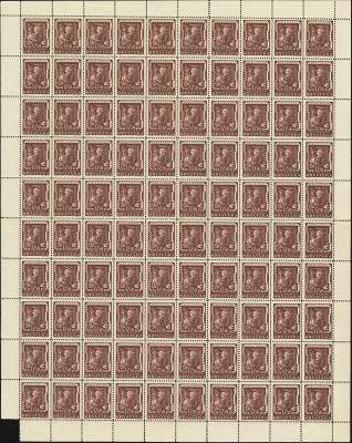 MiNr. 149 Sheet