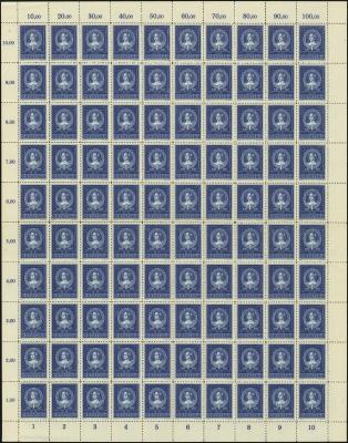 MiNr. 103 Sheet