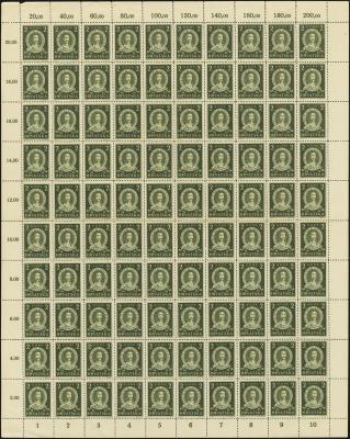 MiNr. 104 Sheet