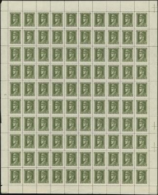 MiNr. 130 Sheet