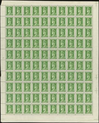 MiNr. 131 Sheet