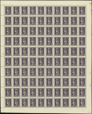 MiNr. 132 Sheet