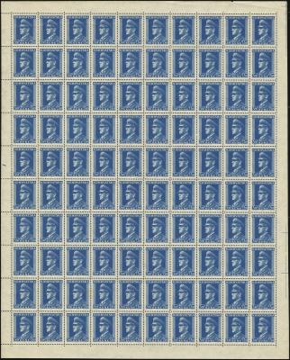 MiNr. 135 Sheet