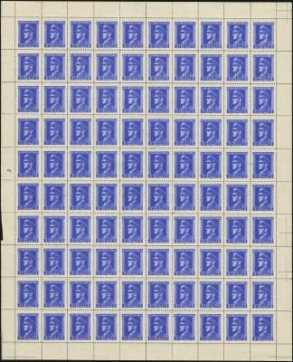 MiNr. 137 Sheet