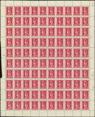 MiNr. 139 Sheet