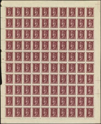 MiNr. 140 Sheet