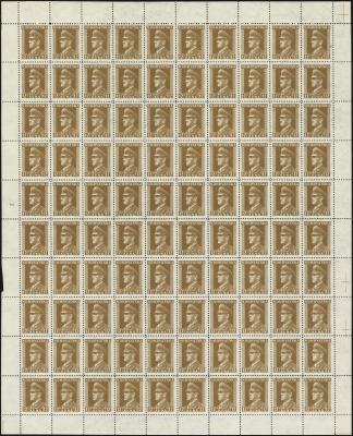 MiNr. 141 Sheet
