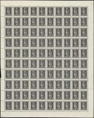 MiNr. 142 Sheet
