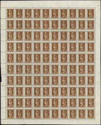 MiNr. 143 Sheet