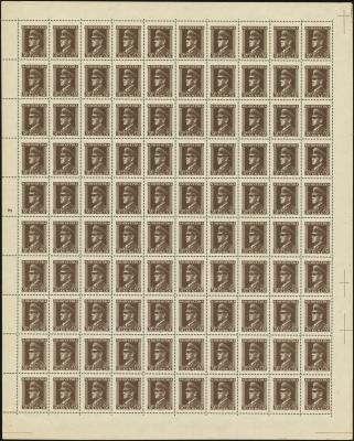 MiNr. 144 Sheet
