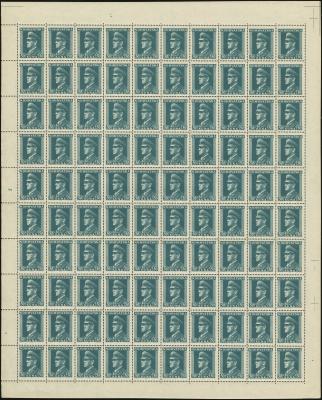 MiNr. 145 Sheet