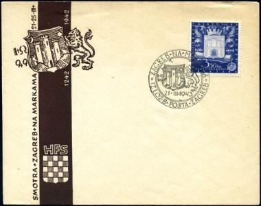 MiNr. 97 FDC