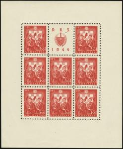 MiNr. 162 C Sheet