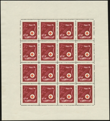 MiNr. 168 Sheet