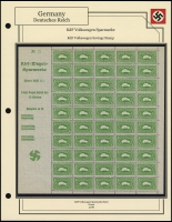 VW Sparmarke Sheet