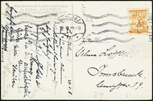 Austrian ZES<br />Postcard (front)